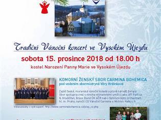 Tradiční vánoční koncert ve Vysokém Újezdu
