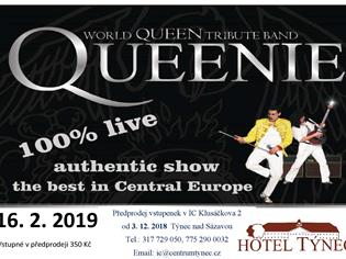 Koncert Queenie – world Queen tribute band